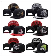 <b>Wholesale New Metal Men'S</b> Party Trucker Snapback Hat Black ...