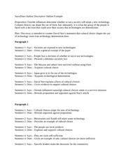outline for a descriptive essay descriptive essay outline template