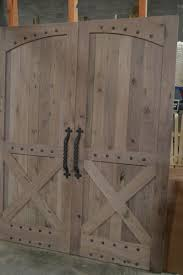 custom made rustic barn style doors