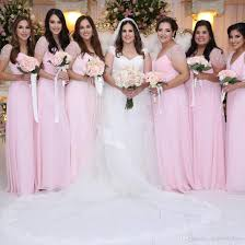 Plus Size Bridesmaid Designers Baby Pink Chiffon Long Plus Size Bridesmaid Dresses 2019 Short Sleeves Ruched Lace Maid Of Honor Wedding Guest Dresses Bm0613