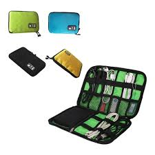 Multi-use Laptop Bags Cases Big Electronic Accessories Storage Bag USB Cable  Charger SD Card