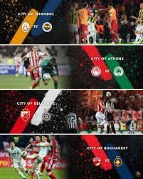 "Globe Soccer Awards on Twitter: ""Which #derby is the best ?  🇹🇷  Istanbul: Galatasaray vs Fenerbahçe 🇬🇷 Athens: Olympiakos vs  Panathinaikos 🇷🇸 Belgrade: Red Star vs Partizan 🇷🇴 Bucharest: Dinamo  București"