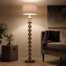 ball floor lamp. stacked ball floor lamp - mercury glass (includes cfl bulb) threshold™ h