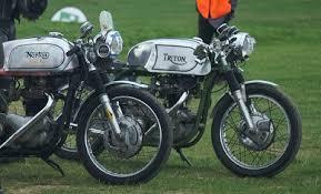 treough 1960 s triton motorcycle