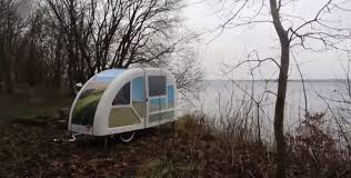 Bike Camper Trailer Wide Path Bicycle Camper Sonderborg Denmark 2015 Youtube