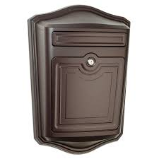 wall mount mailbox envelope. Fine Mailbox Architectural Mailboxes Maison 139in X 194in Metal Oil Rubbed Bronze  Lockable Wall Intended Mount Mailbox Envelope