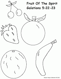 Small Picture Fruit Of The Spirit Coloring Pages Coloring Home