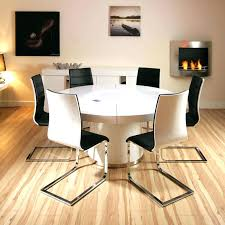 kitchen table with 6 chairs 6 chair round dining table set collection in round white gloss kitchen table with 6 chairs round
