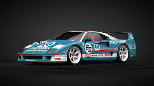 The f40 solidified ferrari's performance credentials in a disjointed period of sloppy models like the mondial and testarossa. Ferrari F40 Pioneer Racing Car Livery By Spykergunman Community Gran Turismo Sport