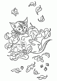 Small Picture Fall Colors Coloring Coloring Pages