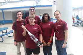 stoneman douglas students perform well in secme competition they competed in a mouse trap car competition water rocket competition essay competition bionic hand competition and