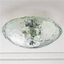recycled glass lighting. Recycled Bottle Glass Bowl Ceiling Light Lighting T