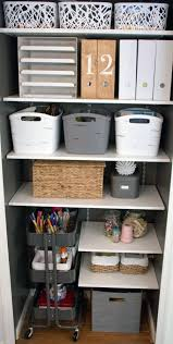 office storage closet. IHeart Organizing: Reader Space: Double The Storage Fun (front Closet! Office Closet E