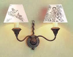 Caravelle Lighting Impex Caravelle Wall Light Black Gold 2 Light