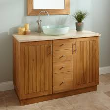 Teak Vanity Bathroom 48 Montara Teak Vessel Sink Vanity Bathroom