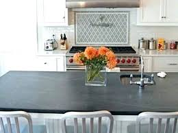 honed quartz countertops black kitchen transitional with