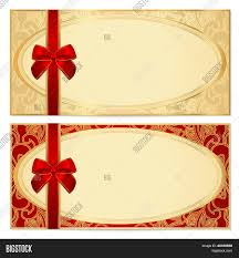 gift certificates format voucher gift certificate coupon vector photo bigstock