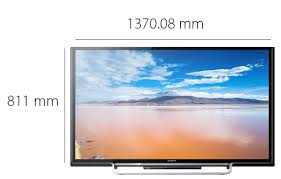 Sony 360inch LED TV - Physical Features 60 Inch Full HD Smart Black, KDL-60W600B | KSA Souq