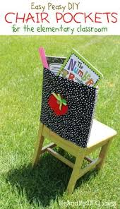 classroom chair back. great step by with pics for chair pockets | classroom ideas pinterest pockets, seat sacks and school back