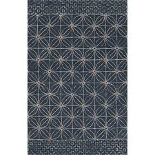 navy blue throw rugs 5 x 8 creamy white and navy blue modern hand tufted wool navy blue throw rugs