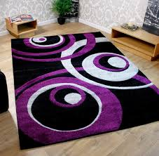 Purple And Black Living Room Modern Ideas Purple Living Room Rugs Cool Design Details About