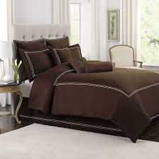 com wamsutta baratta stitch king comforter set in black