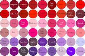 Shades Of Pink In 2019 Shades Of Red Hair Hair Color