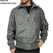 mil tec german army leather flight jacket black mil tec german army leather flight jacket black