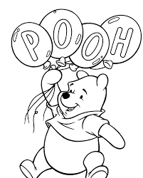 Winnie The Pooh Coloring Pages 02