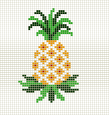 Cross Stitching Patterns Simple Stitch A Simple Pineapple Cross Stitch Pinterest Cross Stitch
