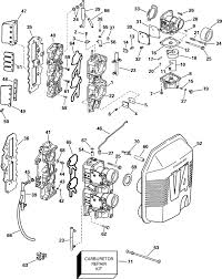 force outboard parts diagram force image wiring johnson carburetor and intake manifold parts for 2000 90hp on force outboard parts diagram