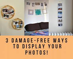 Ways To Hang Pictures Dorm ...