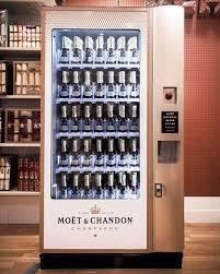 Champagne Vending Machine Vegas Extraordinary Moët Chandon Champagne Vending Machine Introduced At Selfridges