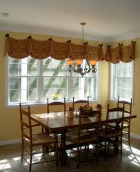 custom window valances traditional kitchen