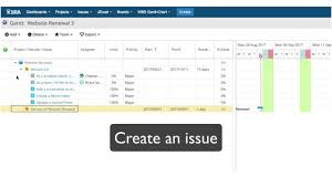 How To Use Gantt Chart In Jira Getting Started 2 Wbs Gantt Chart For Jira Create A Version And An Issue