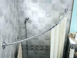 mesmerizing round shower curtain rod for clawfoot tub brilliant round shower curtain rods rod for corner