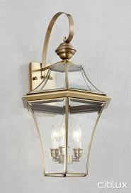 port botany traditional outdoor brass wall light elegant range cux