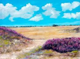 wild flowers original oil painting on hdf by artist darko topalski