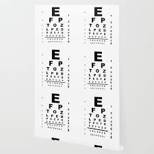 Eye Test Chart Wallpaper