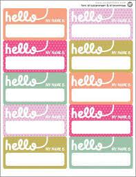 Name Templates Printable Name Tag Printables Desk Dec Creative Name Tags