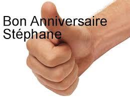 Joyeux anniversaire Stéphane Images?q=tbn:ANd9GcSCrJNC84xLa1OCEIbVVx3IFj8XEiQA7bjkoDmZDml6BuET80BS