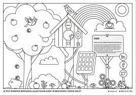 Kleurplaat Duurzame Energie Throughout Casper En Emma Kleurplaat