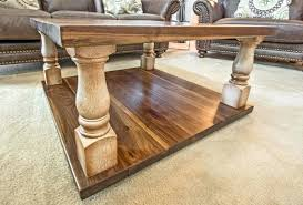 turned coffee table legs in rustic marvelous small metal on sets superb st wood full size