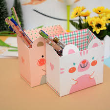 diy office supplies. DIY Foldable Paper Board Office Organizer Round Cosmetic Pencil Pen Holders Stationery Container School Supplies-in From \u0026 Diy Supplies S