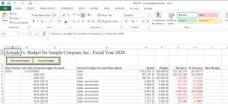 Budgeting Tools 2020 Sage 300 Tips And Tricks Exporting And Importing Budgets