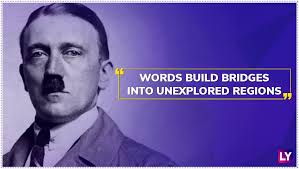 Hitler Quotes Custom Adolf Hitler Birth Anniversary Special These Quotes Of The German