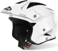 Buy Airoh Helmets Online Airoh Trr Trial Helmet White