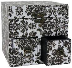 Decorative Storage Boxes With Drawers cardboard storage box decorative teescorner 11