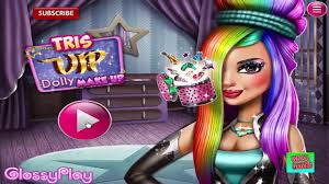 s games makeup tris vip dolly makeup makeover games for s and kids 2018