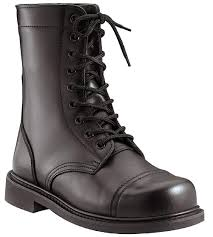 com combat boots black military style 9 leather combat boots jump boots style clothing
